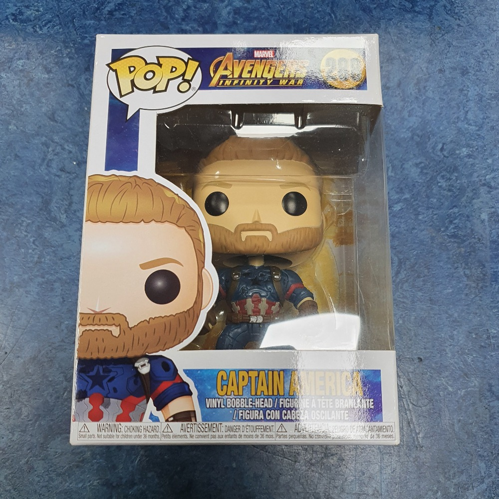 Product photo for Funko Pop captain america  #288