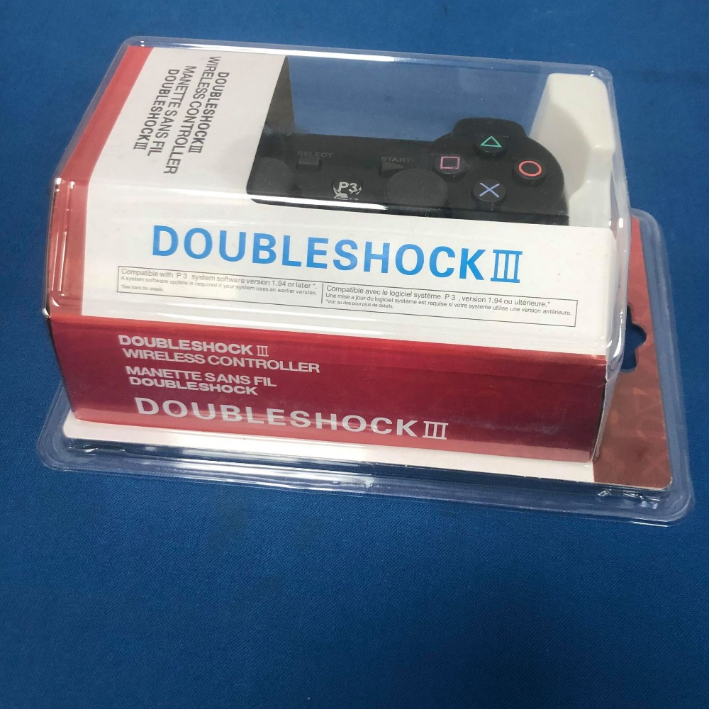 Product photo for DoubleShock Unofficial PlayStation 3 (PS3) Wireless Controller