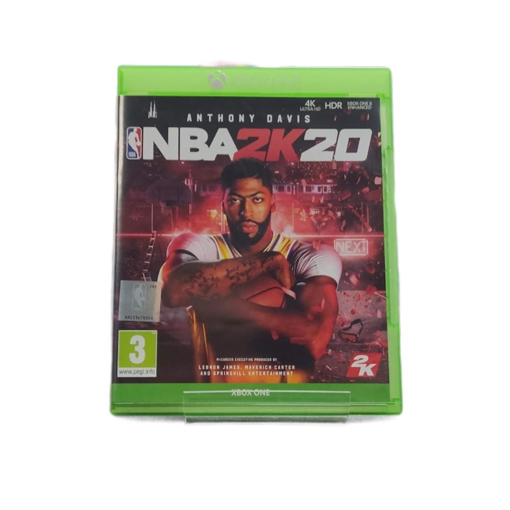 Product photo for microsoft xbox one game  NBA 2K 20
