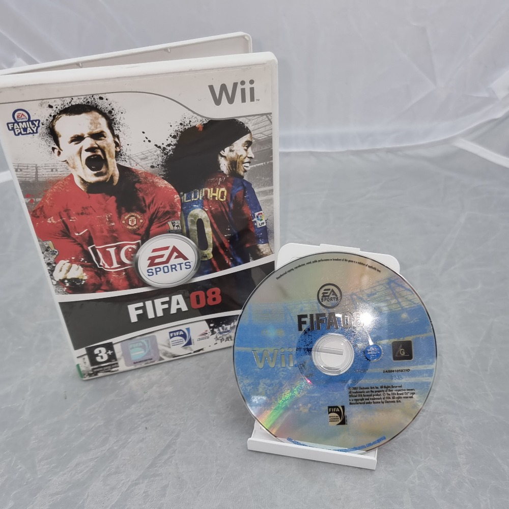 Product photo for Nintendo Wii Game Fifa 08