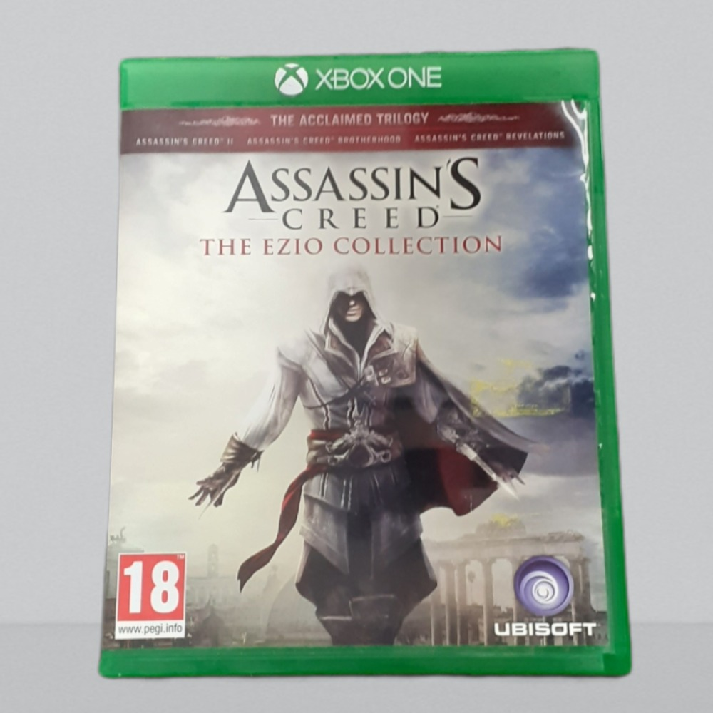 Product photo for  Xbox one game ac ezio collection