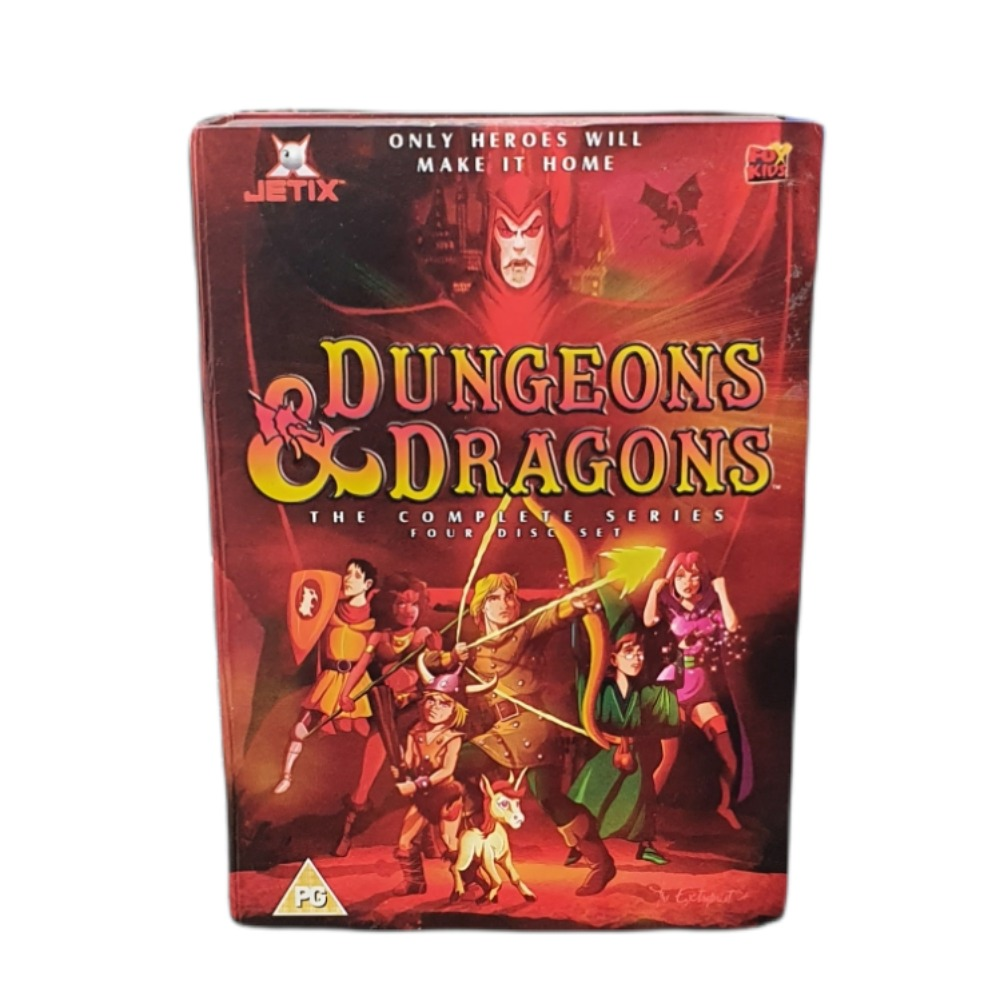 Product photo for Dungeons & Dragons 4 DVD Boxset