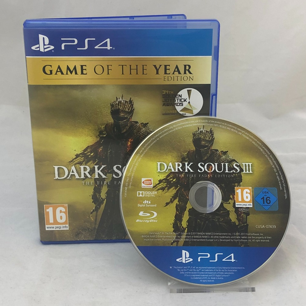 Product photo for Dark Souls III - PS4