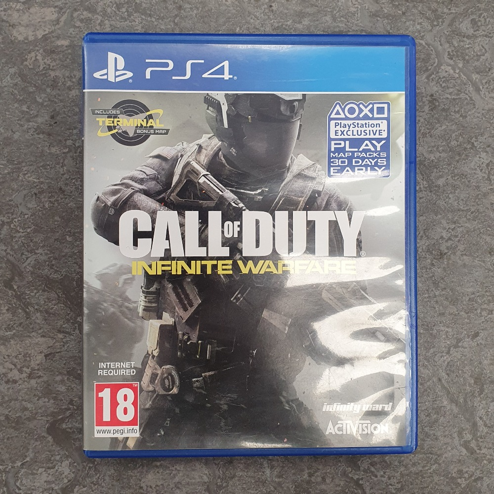 Product photo for Call of Duty Infinite Warfare (PS4)