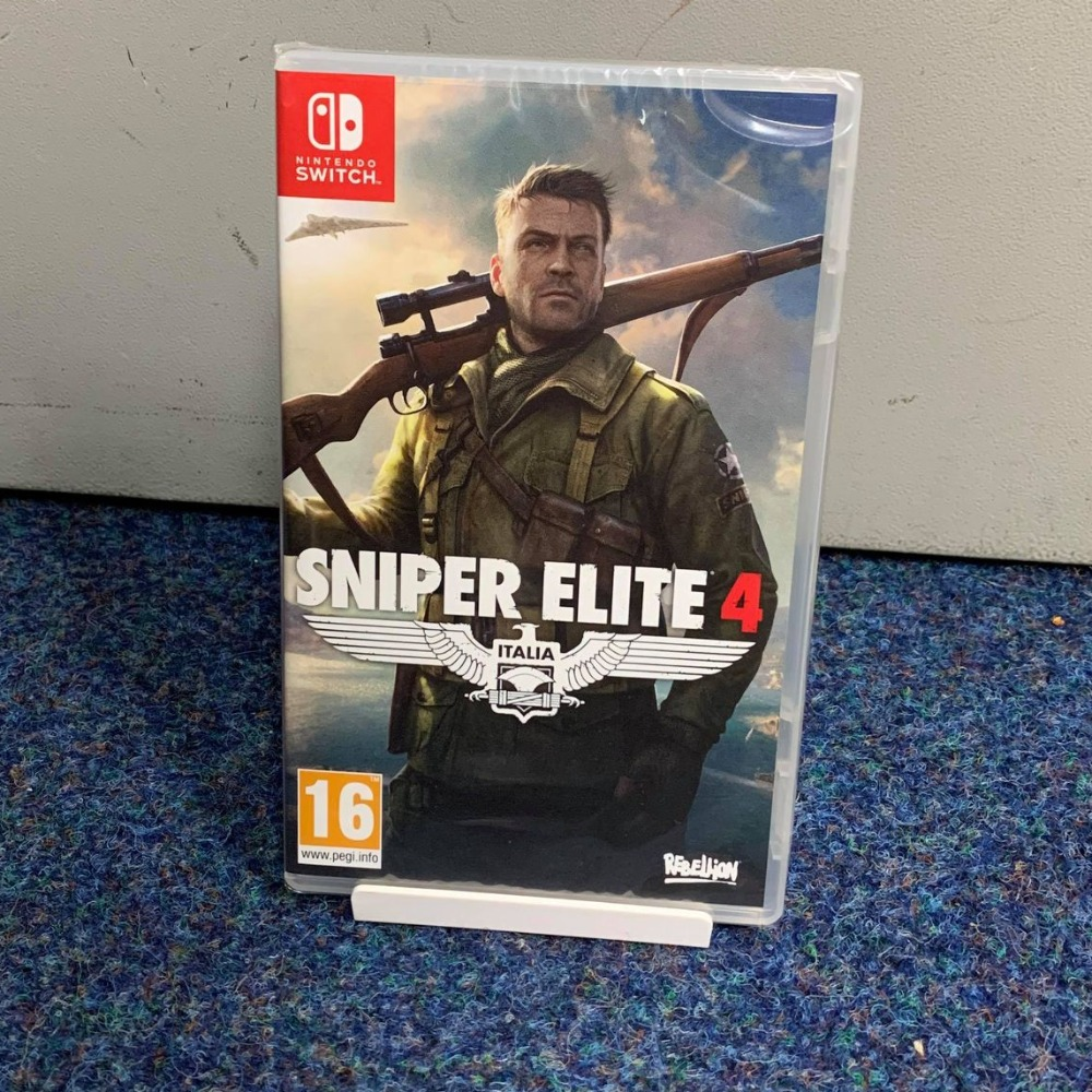 Product photo for Nintendo Switch Game Sniper Elite 4