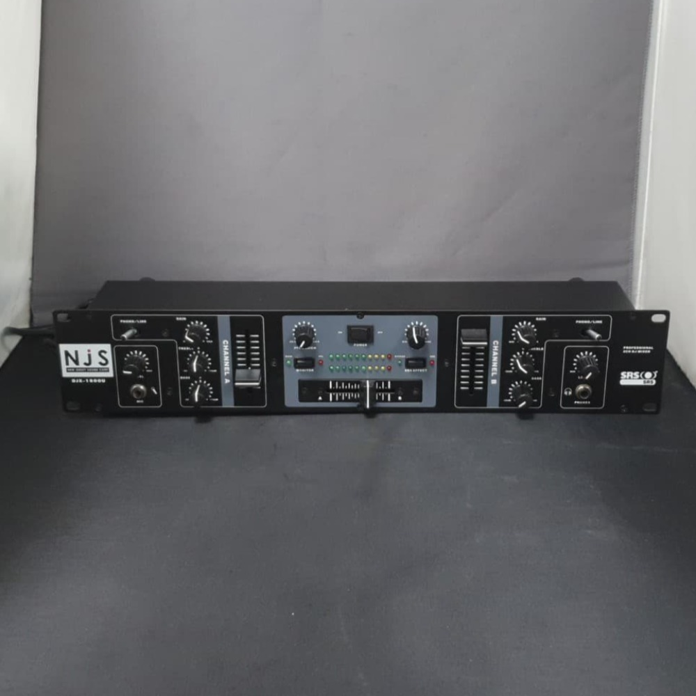 Product photo for NJS djx- 1800u Professional DJ Mixer