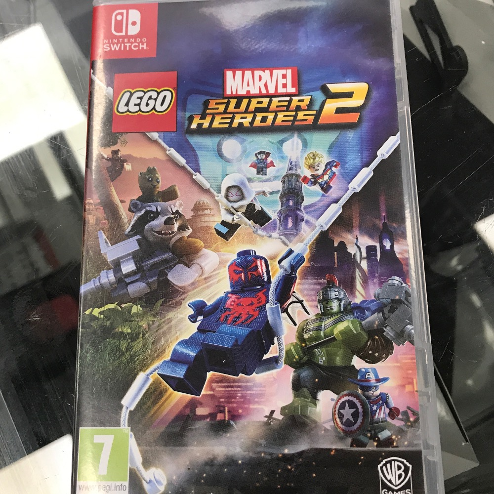 Product photo for Nintedo Switch game lego super heroes 2