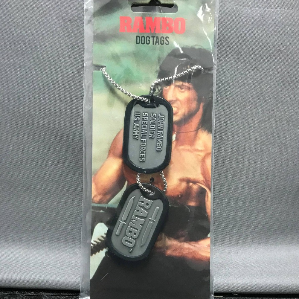 Product photo for Rambo dog tag