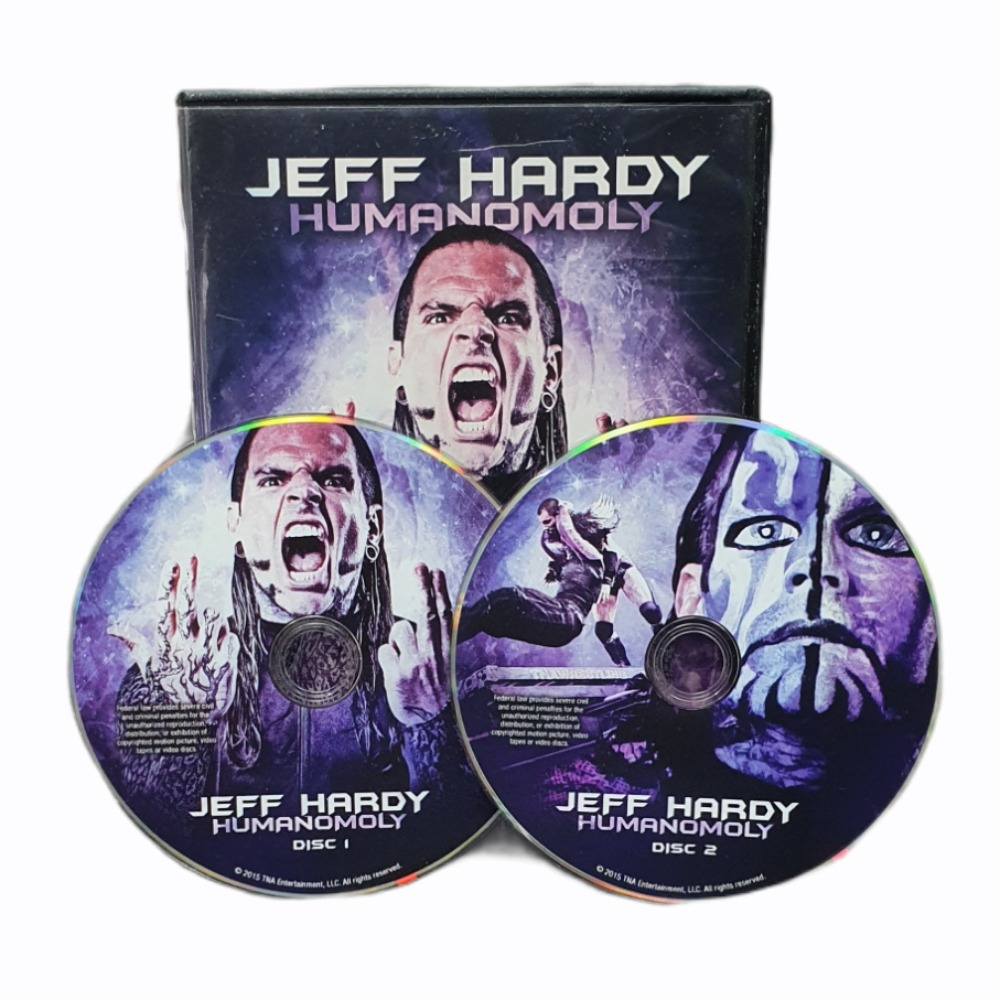 Product photo for Best of Jeff Hardy Volume 3, The - Humanomoly - DVD