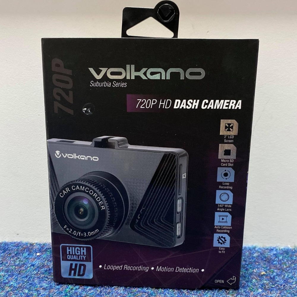 Product photo for Volkano Dashcam Suburbia