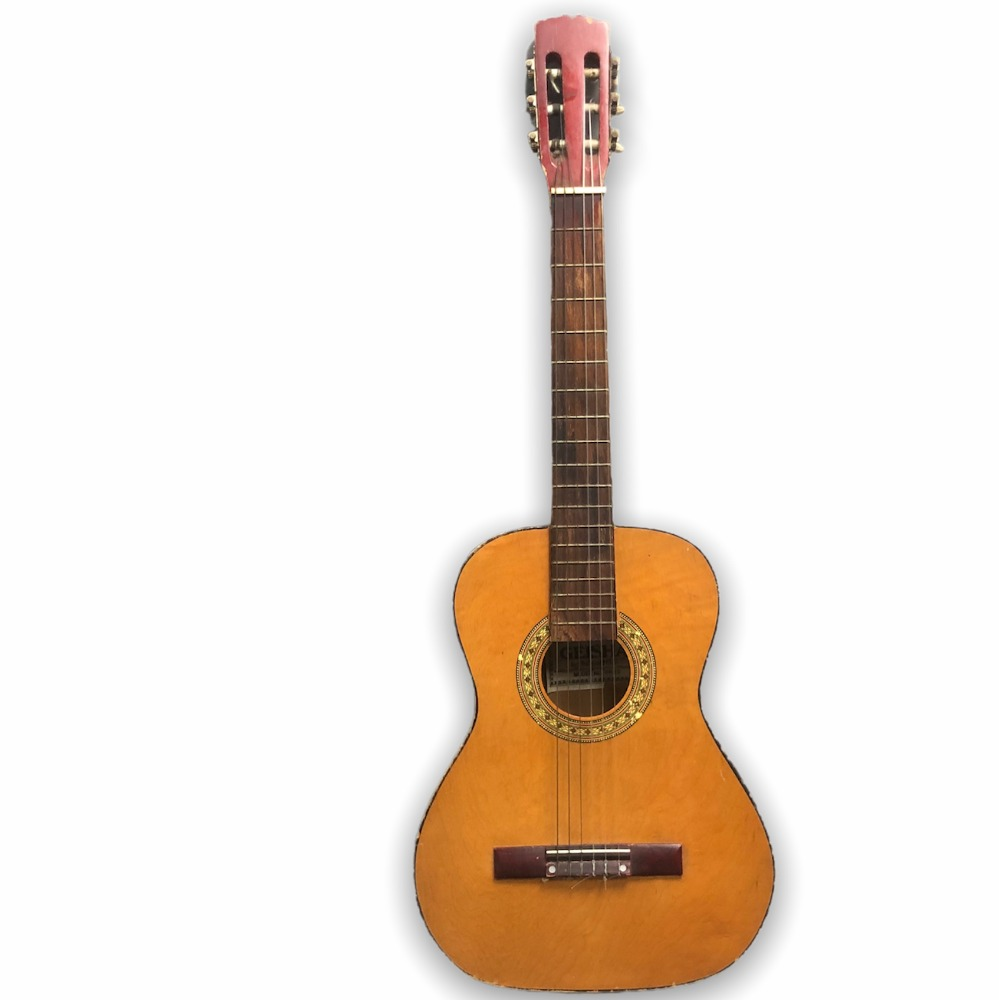Product photo for Vintage Acoustic Guitar - Geisha by Rosetti