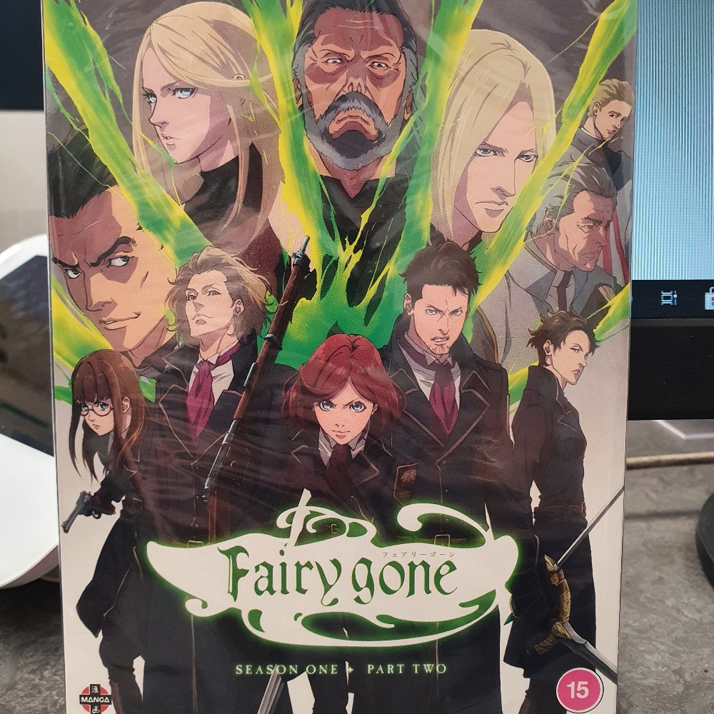 Product photo for Fairy Gone (DVD)