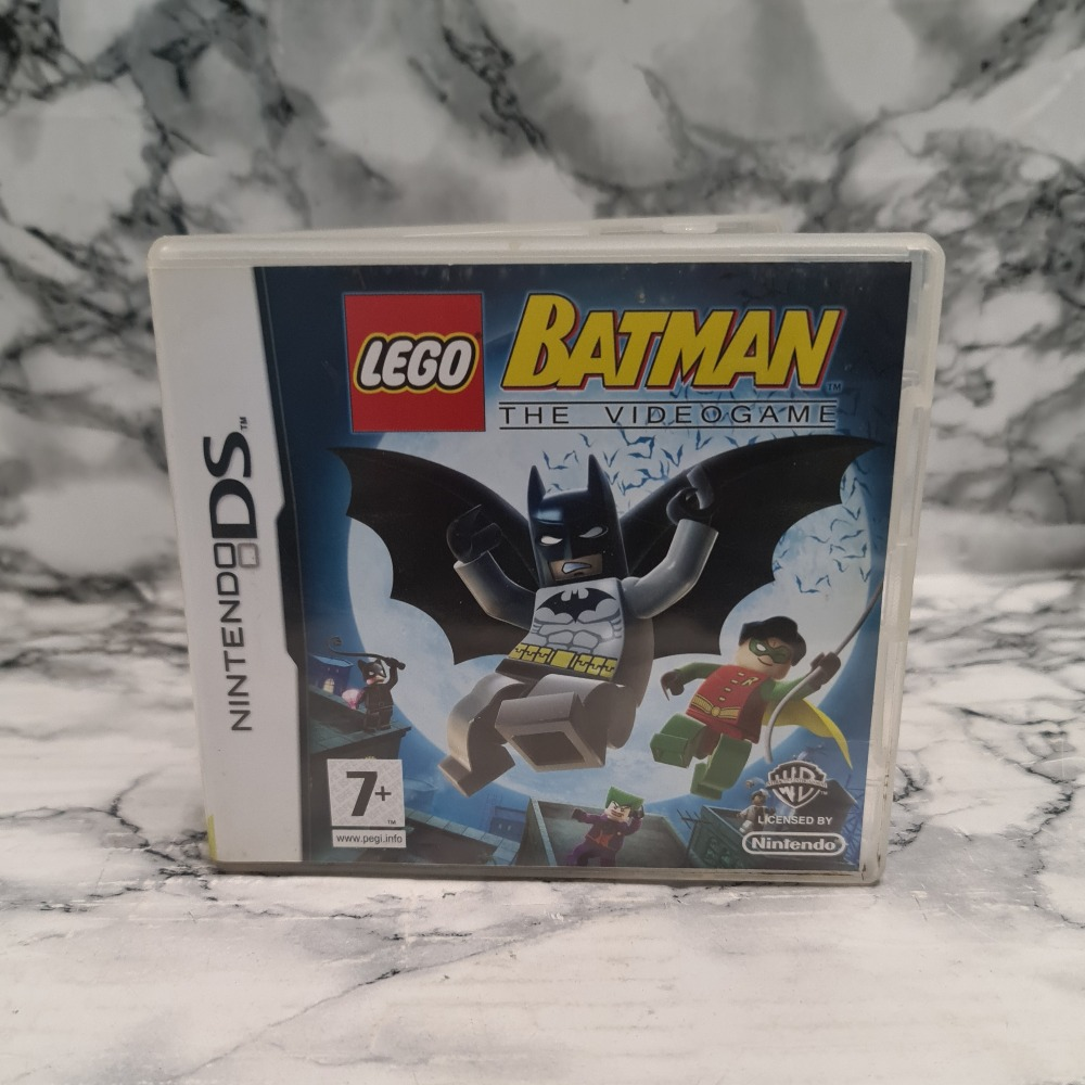 Product photo for LEGO BATMAN THE VIDEOGAME NINTENDO DS