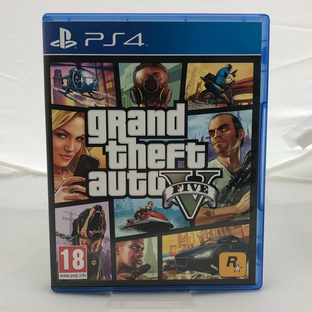 Product photo for Grand Theft Auto 5 (PS4)