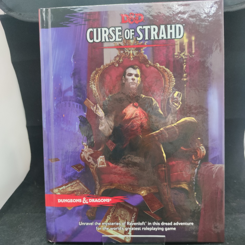 Product photo for Dungeons & Dragons Curse Of  The Strahd