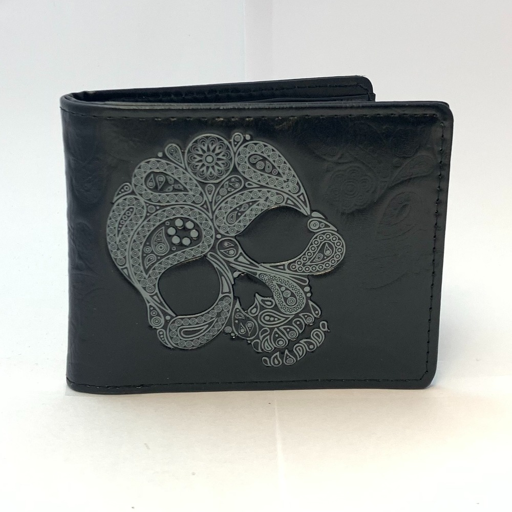 Product photo for Wallet abstract skull ( WAS £19.99 )