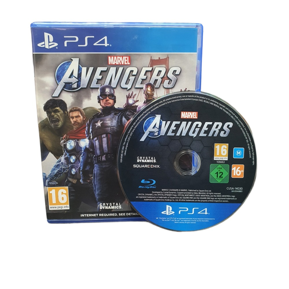 Product photo for Marvel Avengers - PLAY STATION 4 GAME