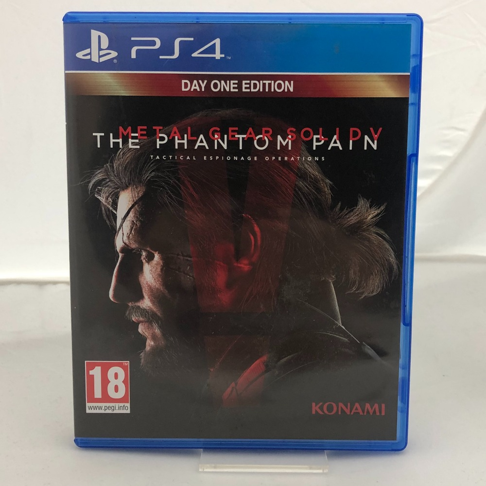 Product photo for Metal Gear Solid: The Phantom Pain (PS4)