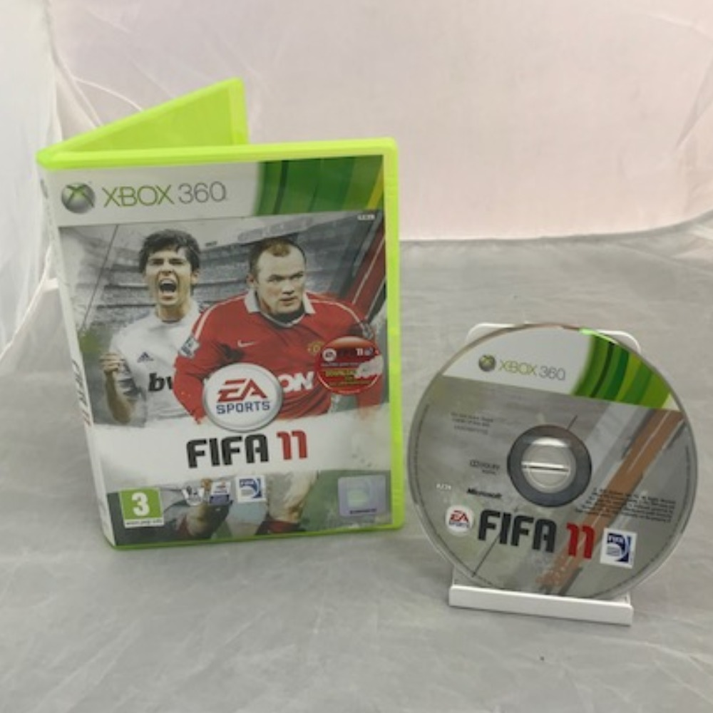 Product photo for Xbox 360 Game Fifa 11