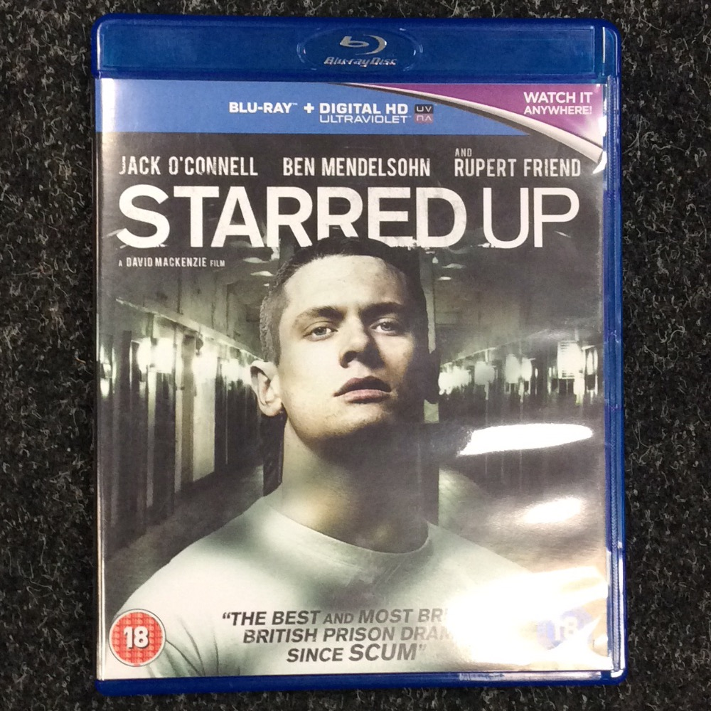 Product photo for Blu-ray Starred Up Blu-Ray