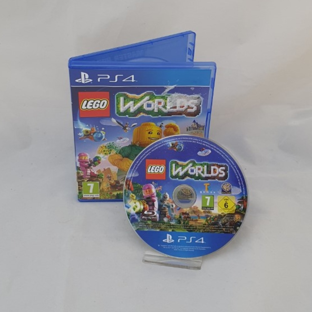 Product photo for Lego Worlds PS4