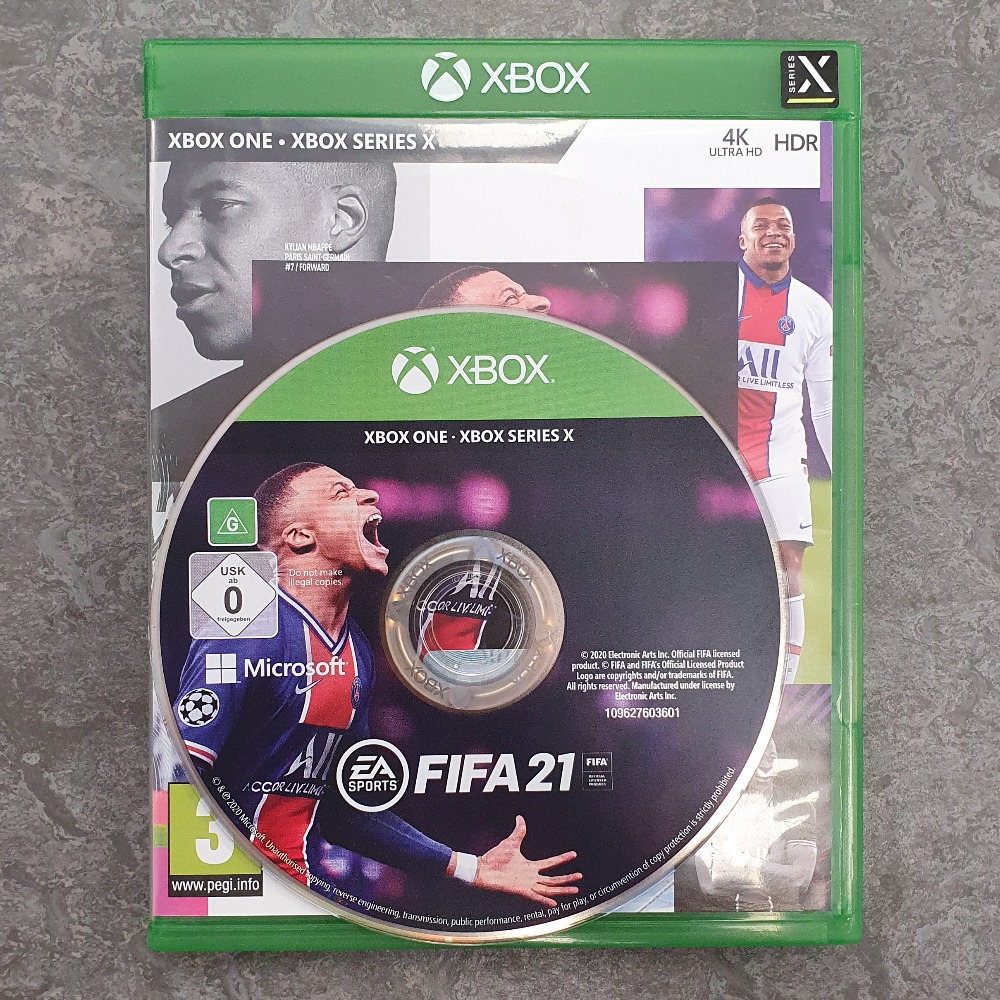 Product photo for FIFA 21 (Xbox One)