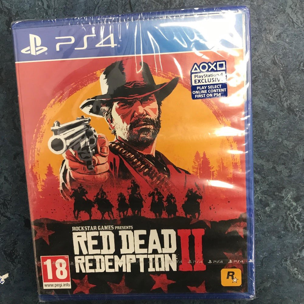 Product photo for Sony red dead 2