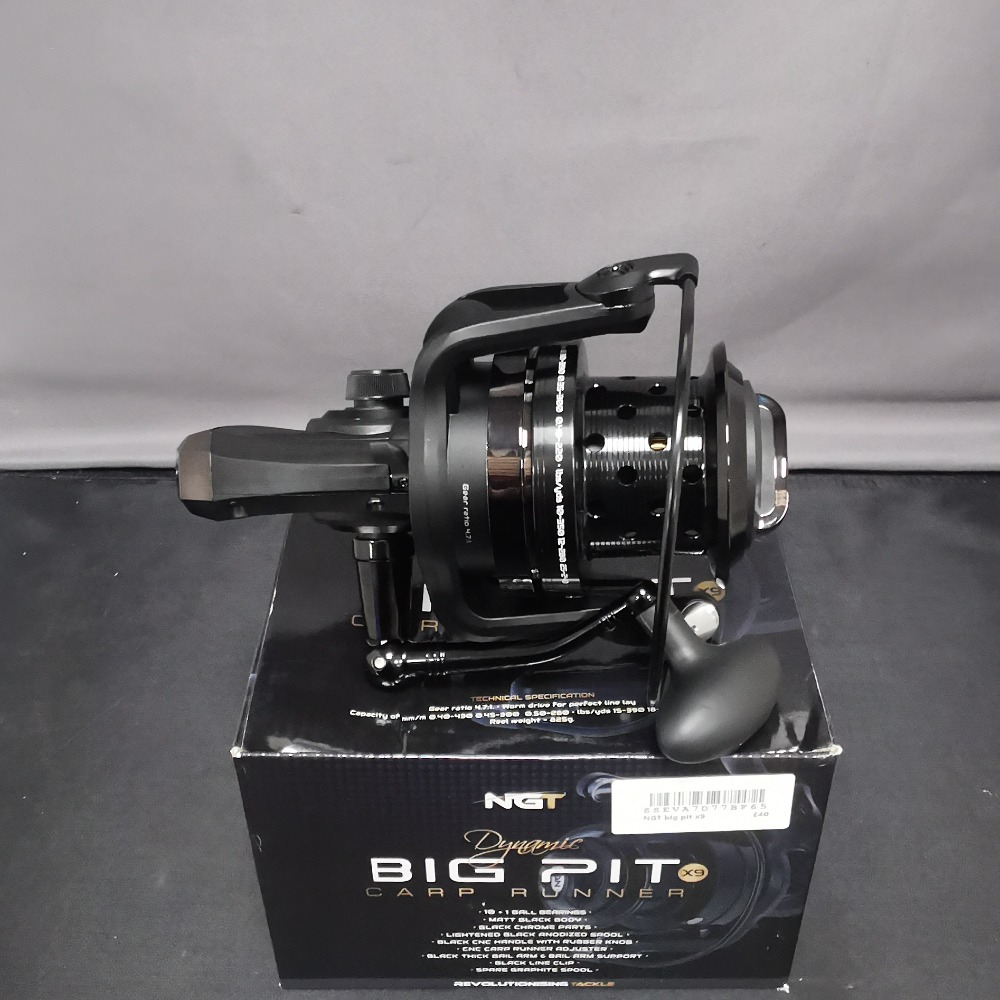 Product photo for NGT Big Pit X9 Reel