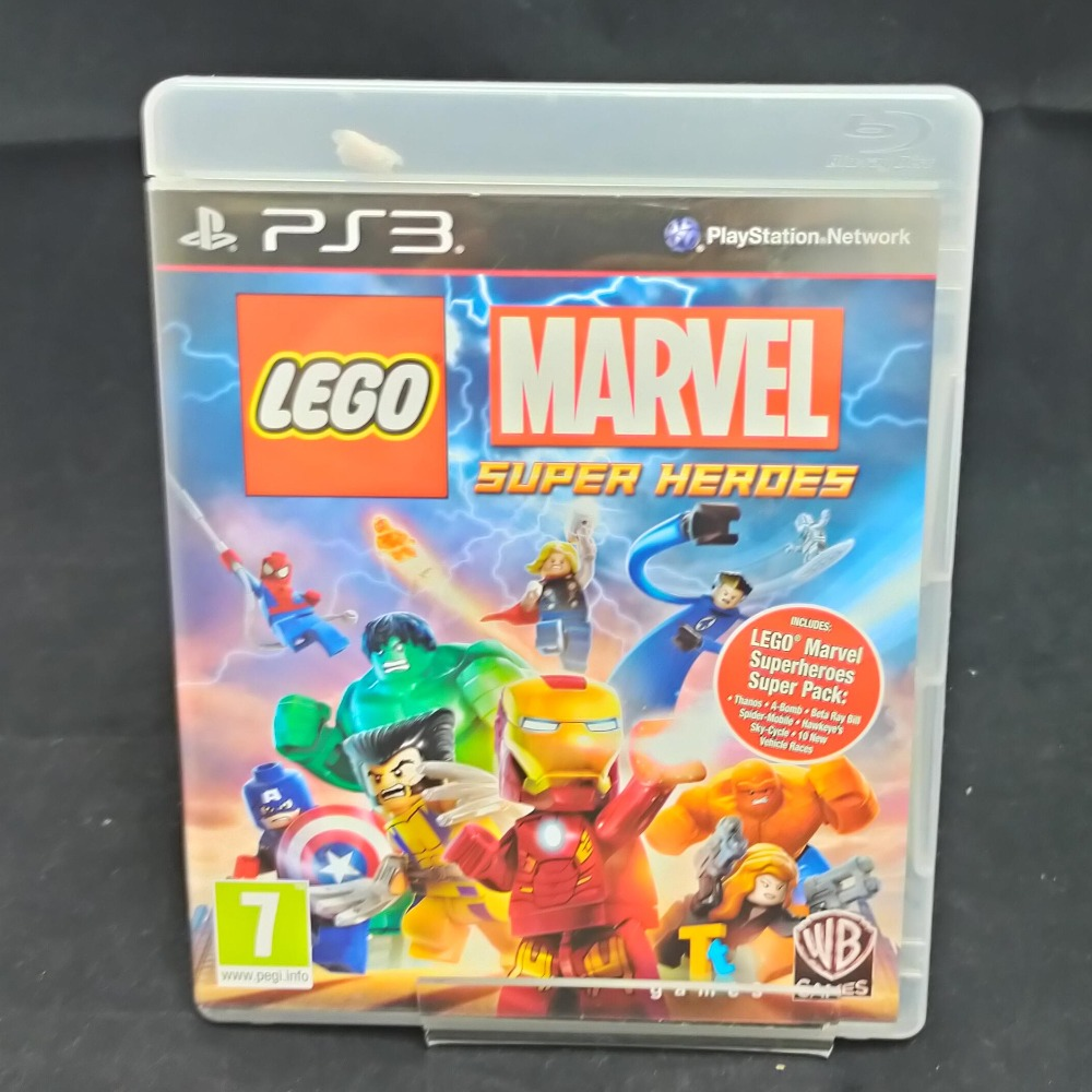 Product photo for PS3 Game Lego Marvel Super Heroes