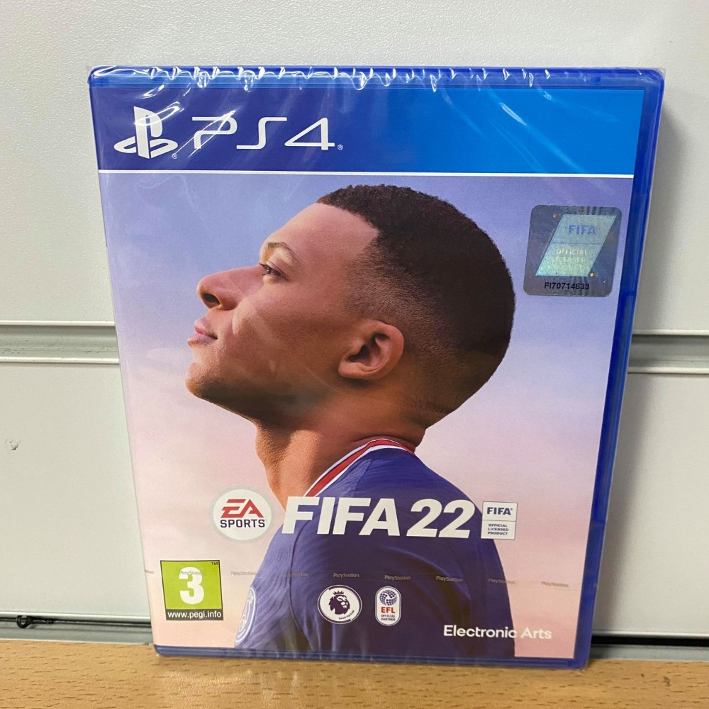 Product photo for Sony PlayStation 4 Fifa 22 Sealed Ps4 Game with DLC Code - Free Delivery