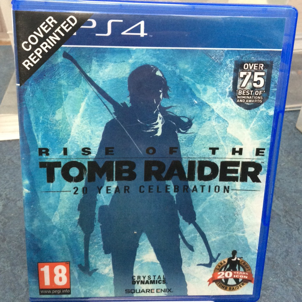 Product photo for PS4 Game Rise of the tomb raider