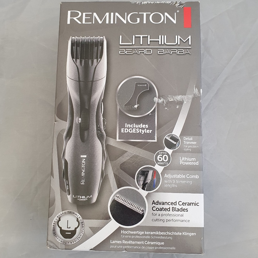 Product photo for Remington Lithium Beard Barba (Brand new and sealed)