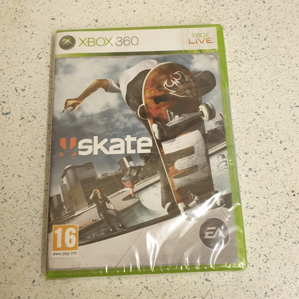 Product photo for  Microsoft Xbox 360 game Skate Xbox 360 game