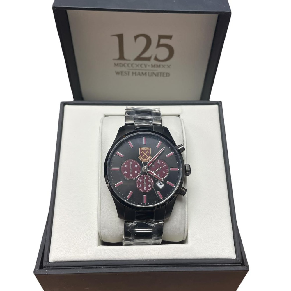 Product photo for West Ham United Watch 125 Anniversary Limited Edition Watch No 56 of 75 New