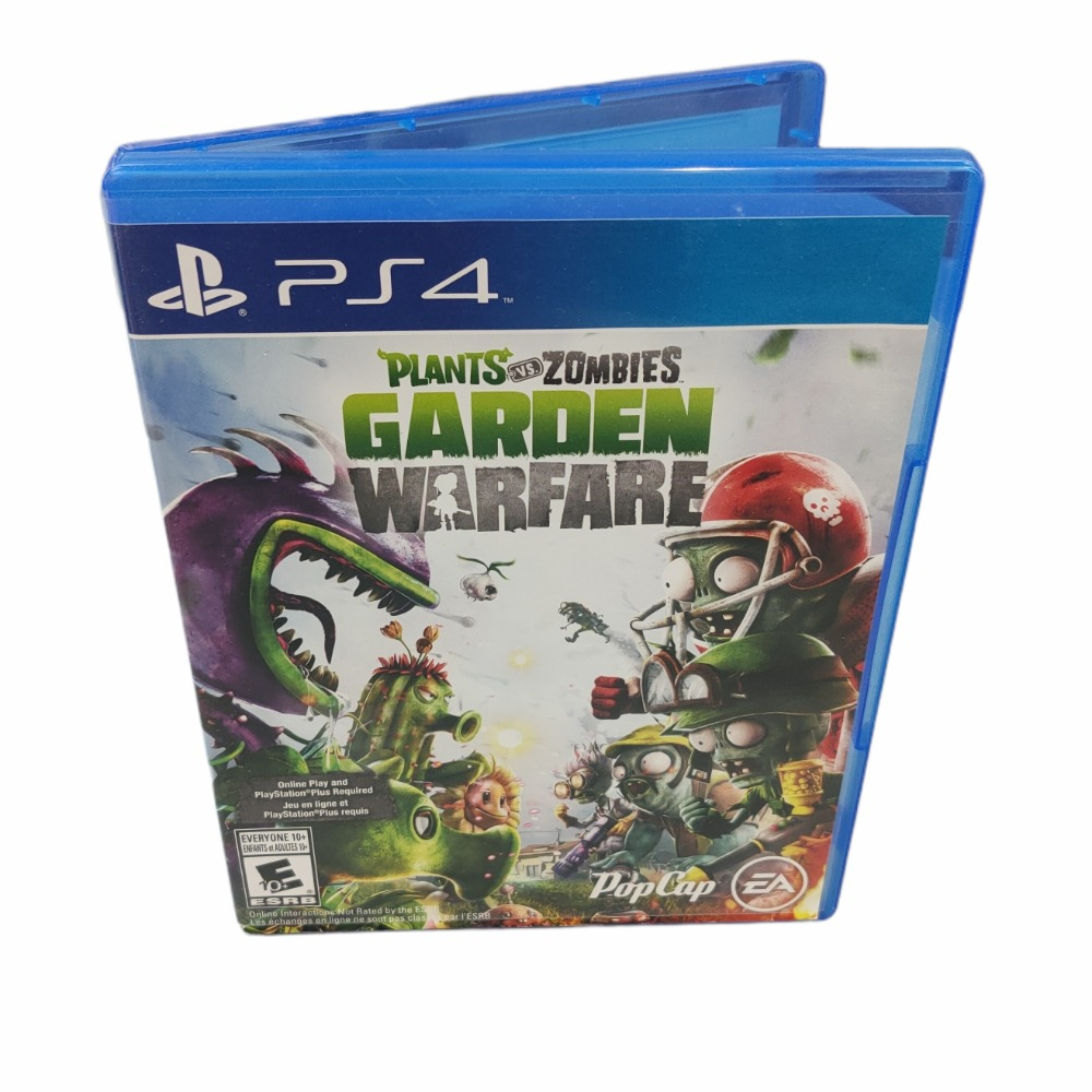 Product photo for PlayStation 4 Game Plants vs Zombies Garden Warfare