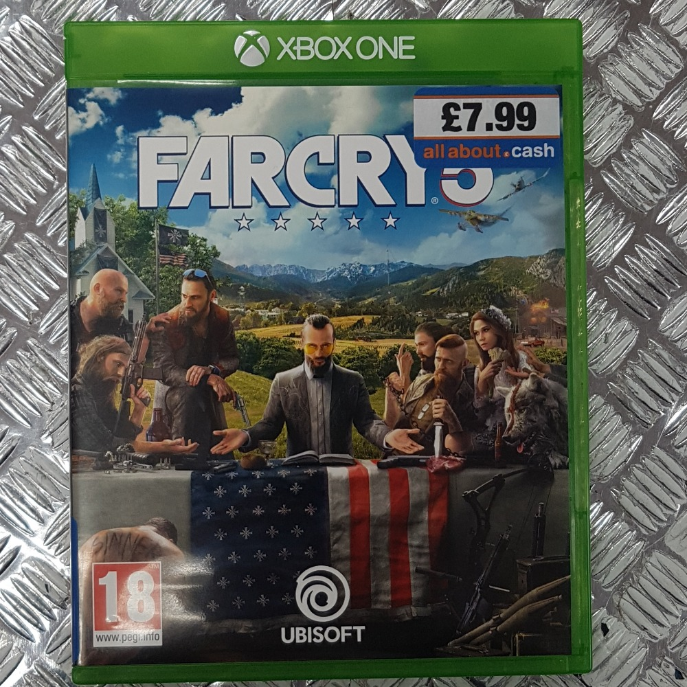Product photo for Farcry 5 (XBOX ONE)