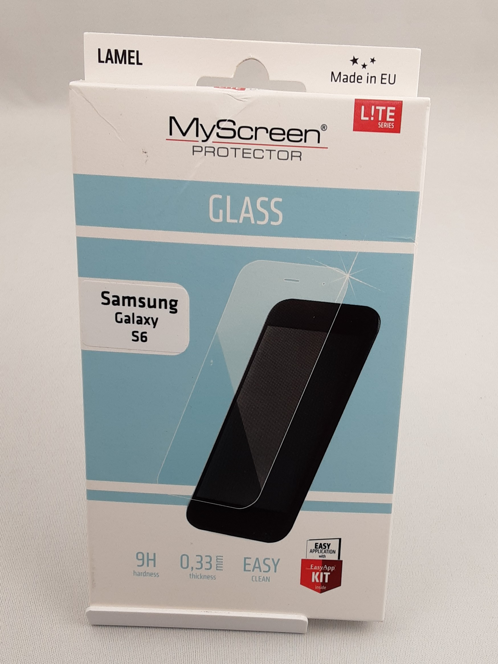 Product photo for My Screen Protector Samsung Galaxy S6 Screen Protector.