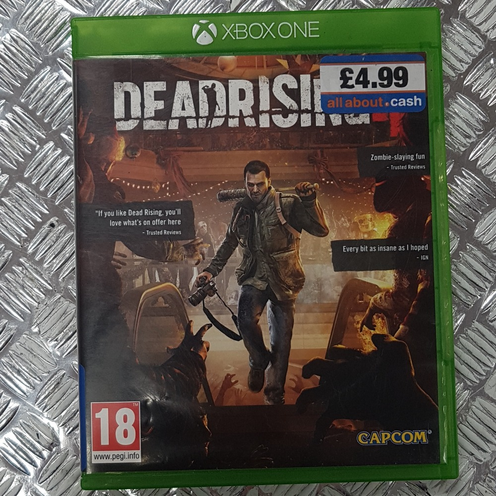 Product photo for Deadrising 4 (XBOX ONE)