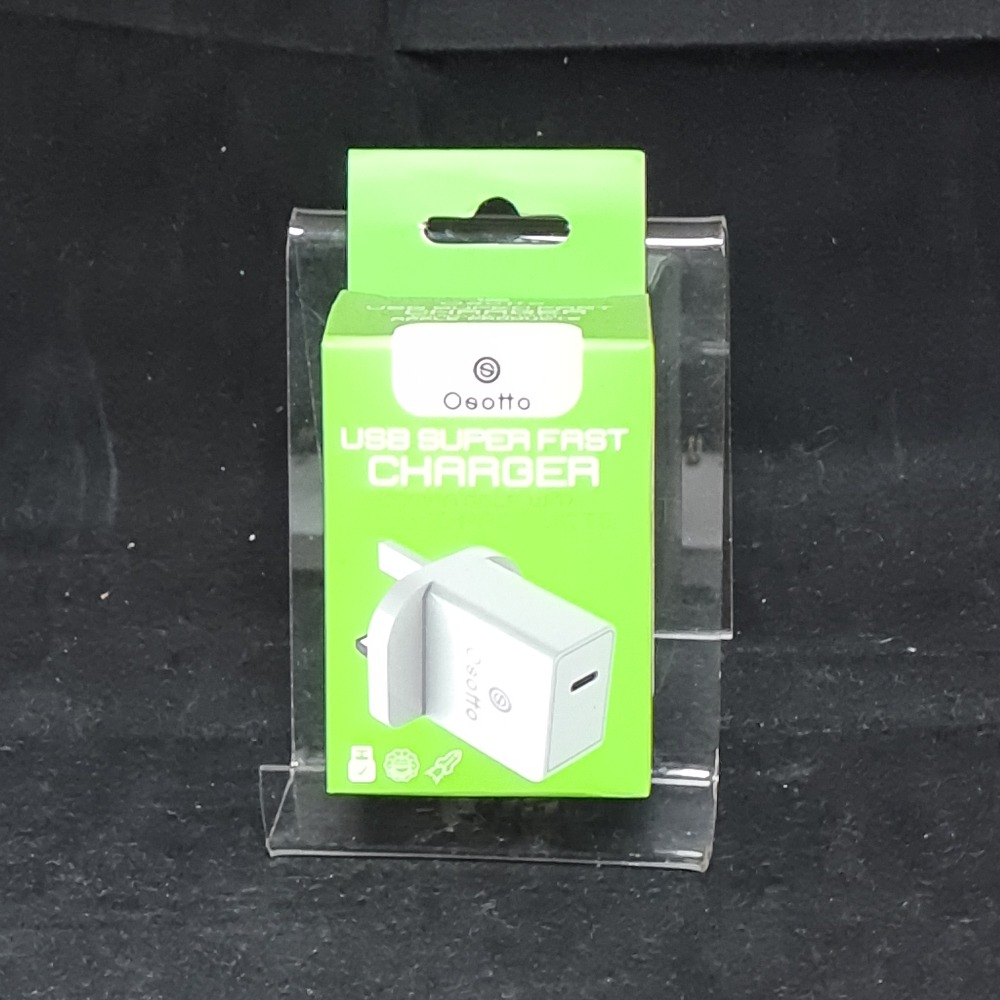 Product photo for Bavin OSOTTO Apple PD Charger White