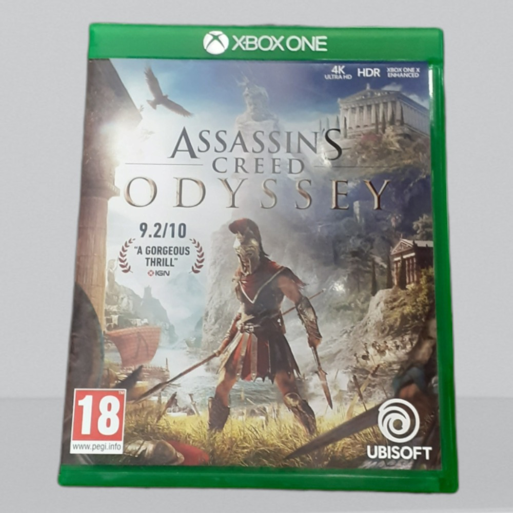 Product photo for  Xbox one game ac odyssey