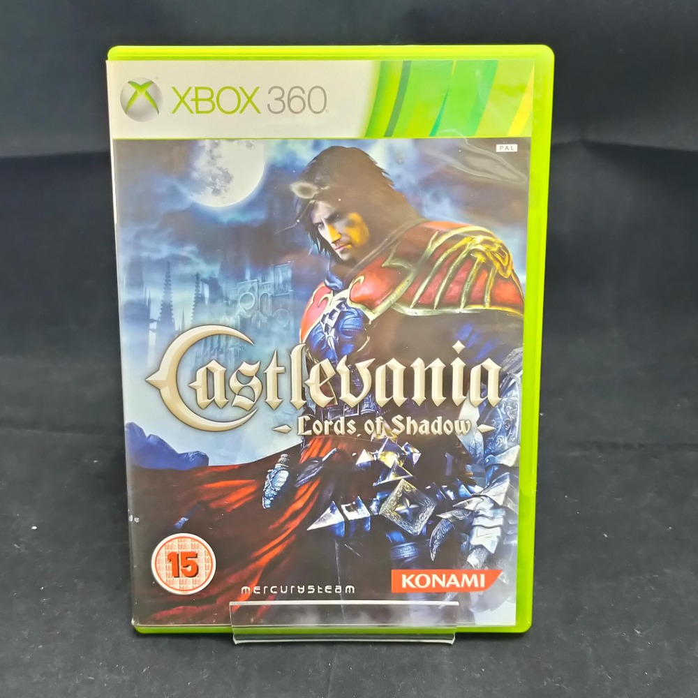 Product photo for xbox 360 game Castlevania
