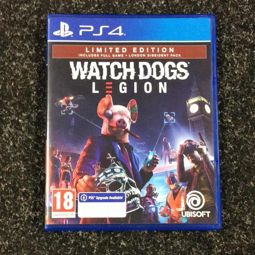 Product photo for SONY PS4 Game Watchdogs legion