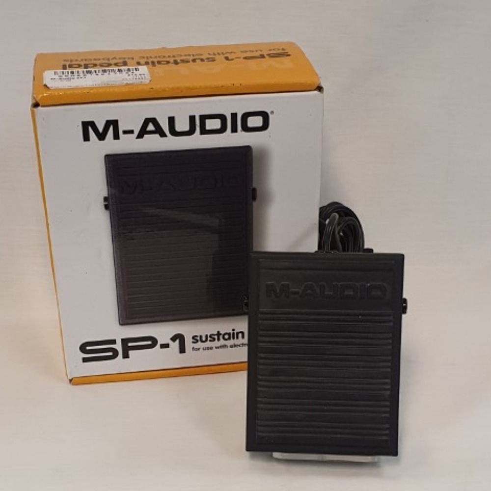 Product photo for M-Audio SP1 Sustain Pedal