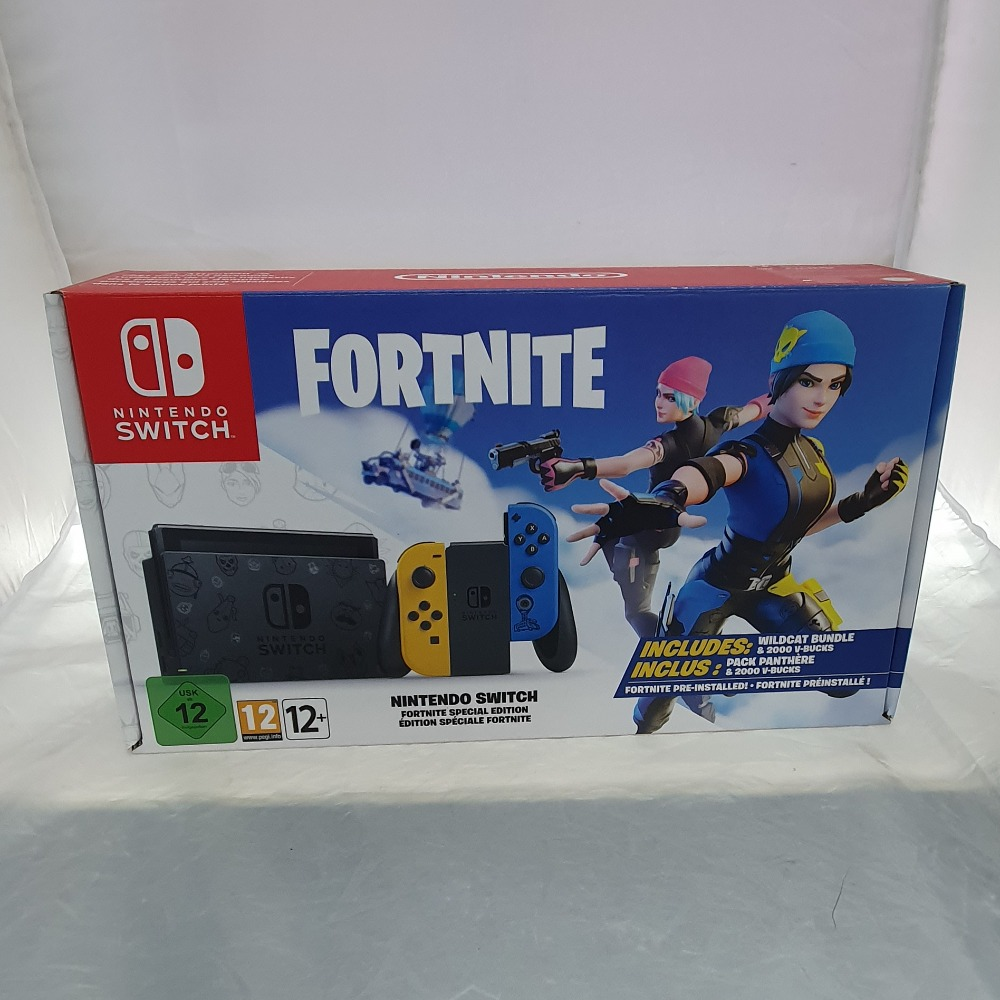 Product photo for Nintendo Switch - Fortnite Limited Edition