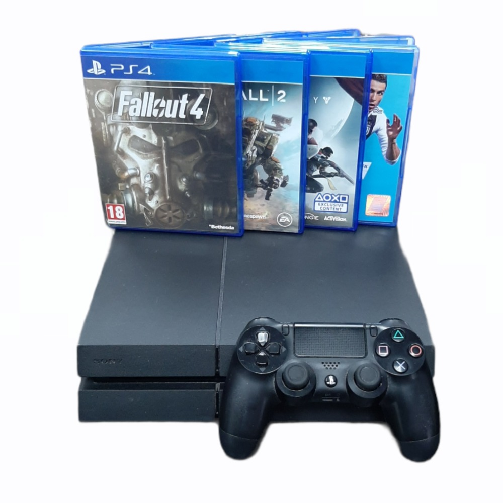 Product photo for Playstation 4 Package - 500GB