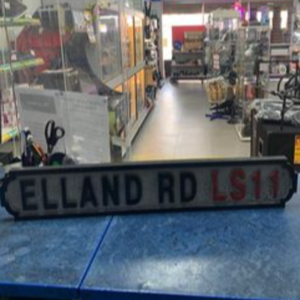 Product photo for Elland Road Sign LS11