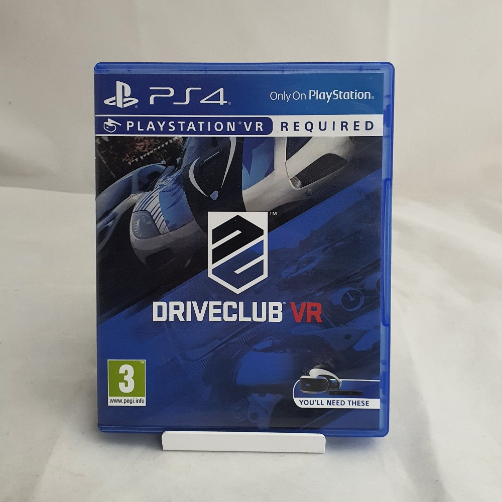 Product photo for PS4 VR Game Driveclub
