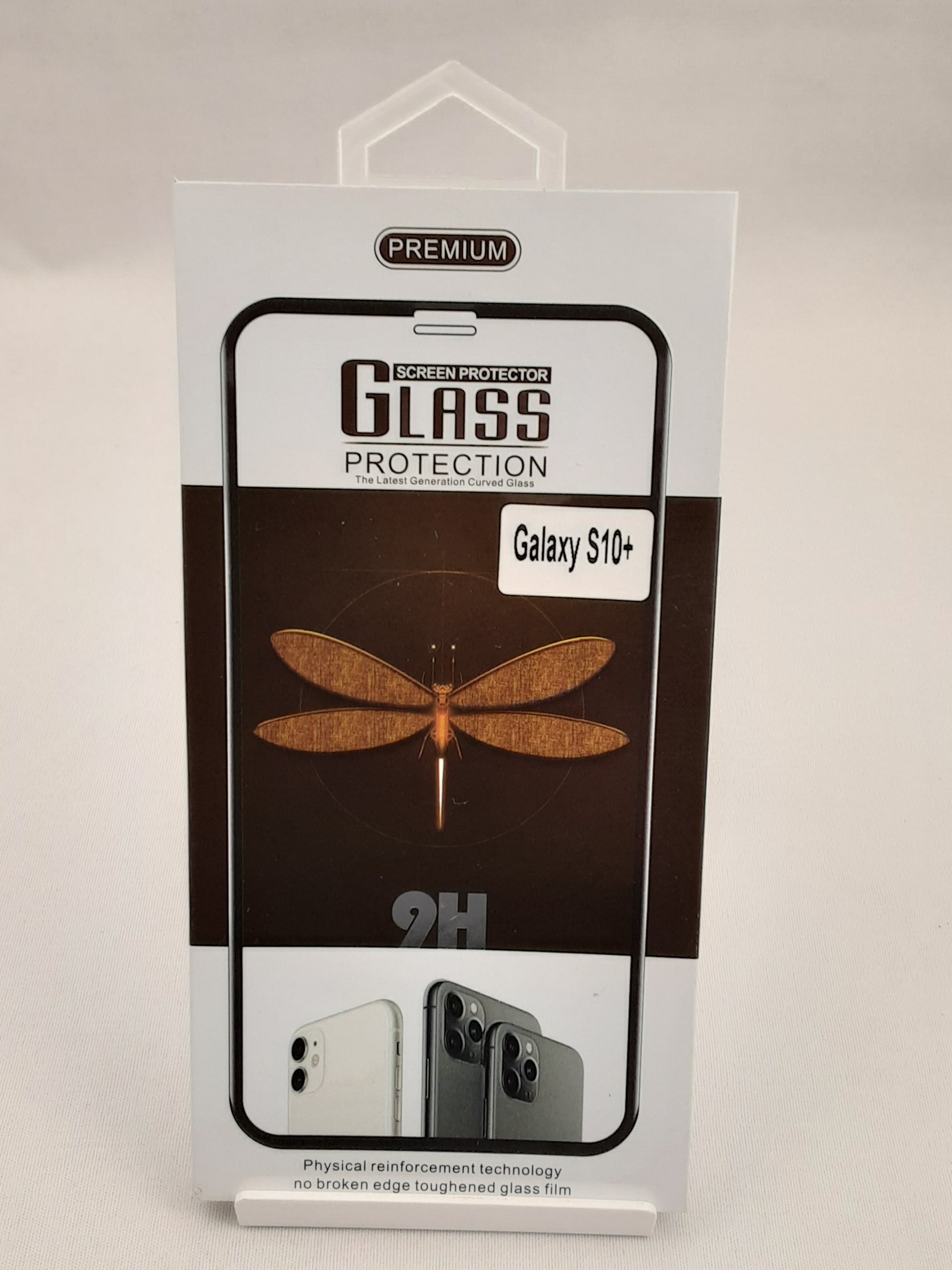 Product photo for Glass Protection Samsung Galaxy S10+ Screen Protector
