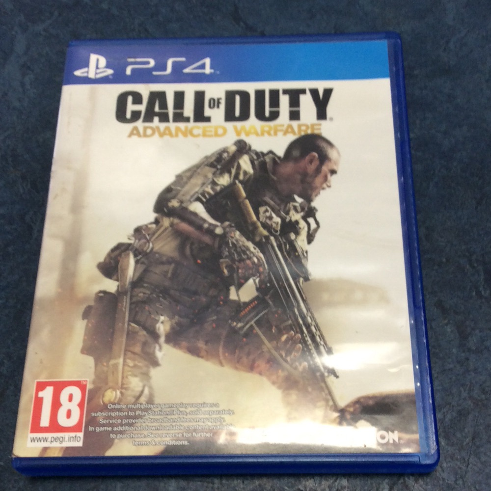 Product photo for PS4 Game Call of duty advanced warfare