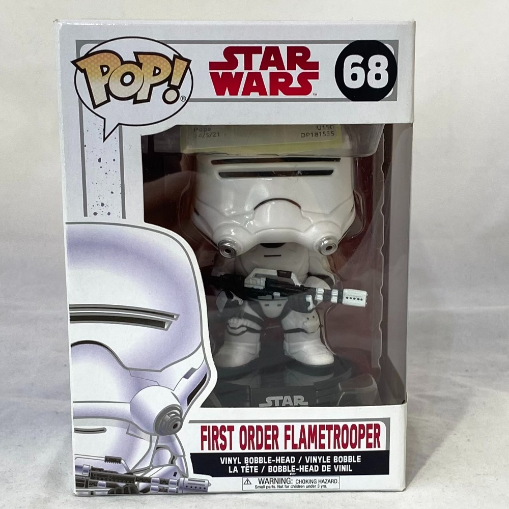 Product photo for Star Wars - First Order Flamtrooper Funko Pop!